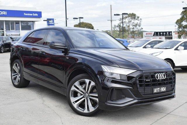 Used Audi Q8 4M MY20 55 TFSI Tiptronic Quattro, 2019 Audi Q8 4M MY20 55 TFSI Tiptronic Quattro Black 8 Speed Sports Automatic Wagon