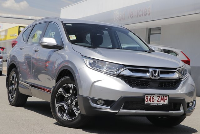 Demo Honda CR-V RW MY20 VTi-S 4WD, 2019 Honda CR-V RW MY20 VTi-S 4WD Lunar Silver 1 Speed Constant Variable Wagon