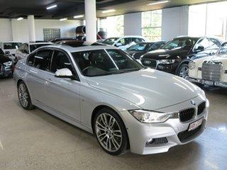 2015 BMW 3 Series F30 MY1114 328i M Sport Silver 8 Speed Sports Automatic Sedan.