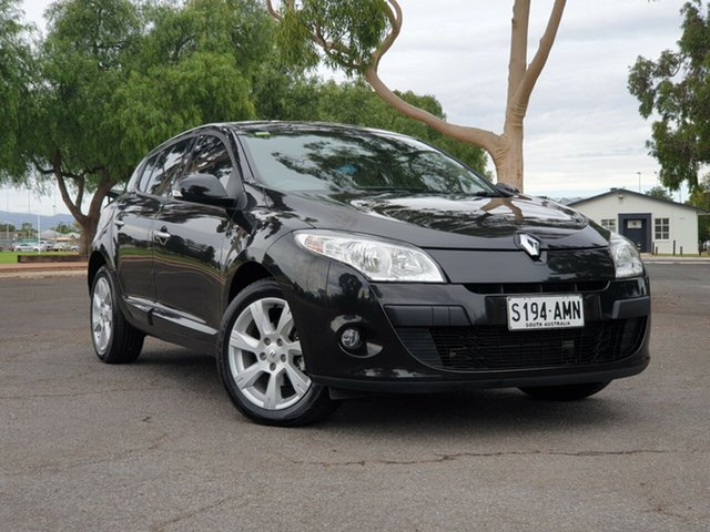 Used Renault Megane III B32 Privilege, 2011 Renault Megane III B32 Privilege Black 6 Speed Constant Variable Hatchback