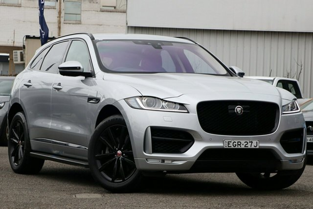 Used Jaguar F-PACE X761 MY17 30d AWD R-Sport, 2017 Jaguar F-PACE X761 MY17 30d AWD R-Sport Silver 8 Speed Sports Automatic Wagon