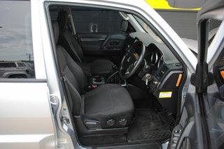2011 Mitsubishi Pajero NT MY11 GL Cool Silver 5 Speed Manual Wagon