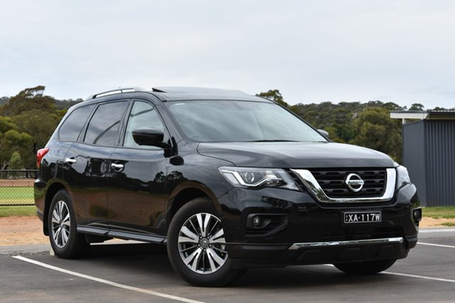 Demo Nissan Pathfinder R52 Series III MY19 ST-L X-tronic 4WD, 2019 Nissan Pathfinder R52 Series III MY19 ST-L X-tronic 4WD Diamond Black 1 Speed Constant Variable
