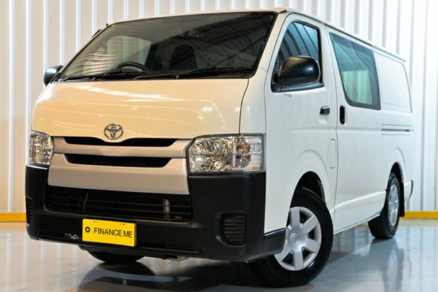 Used Toyota HiAce TRH201R LWB, 2018 Toyota HiAce TRH201R LWB White 5 Speed Manual Van
