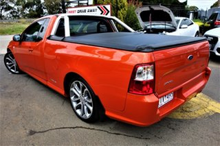 2012 Ford Falcon FG MkII XR6 Ute Super Cab Limited Edition Orange 6 Speed Sports Automatic Utility