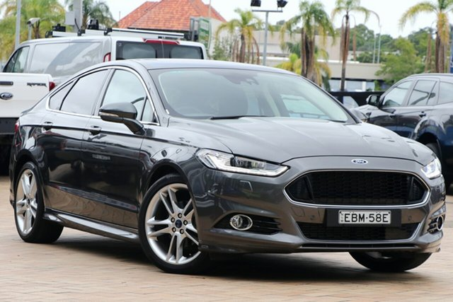Used Ford Mondeo MD 2018.25MY Titanium SelectShift, 2017 Ford Mondeo MD 2018.25MY Titanium SelectShift Magnetic 6 Speed Sports Automatic Hatchback