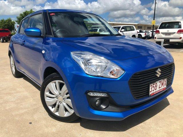 Used Suzuki Swift AZ GL Navigator, 2018 Suzuki Swift AZ GL Navigator Blue 1 Speed Constant Variable Hatchback