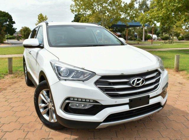 Used Hyundai Santa Fe DM3 MY16 Elite, 2016 Hyundai Santa Fe DM3 MY16 Elite White 6 Speed Sports Automatic Wagon