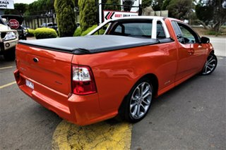 2012 Ford Falcon FG MkII XR6 Ute Super Cab Limited Edition Orange 6 Speed Sports Automatic Utility.
