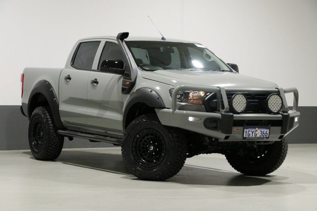 Used Ford Ranger PX MkII XL 3.2 (4x4), 2016 Ford Ranger PX MkII XL 3.2 (4x4) Grey 6 Speed Automatic Crew Cab Utility