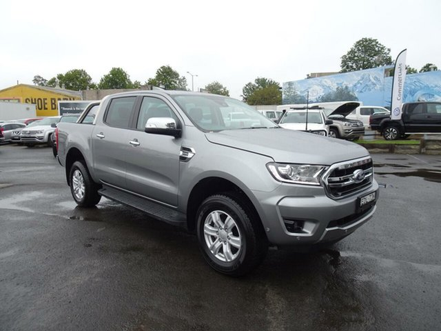 Used Ford Ranger  XLT Pick-up Double Cab, 2019 Ford Ranger PX MKIII 2019.7 XLT Pick-up Double Cab Aluminium 10 Speed Sports Automatic Utility