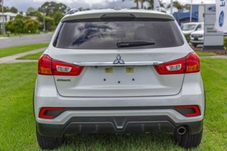 2017 Mitsubishi ASX XC MY18 LS 2WD White 6 Speed Constant Variable Wagon