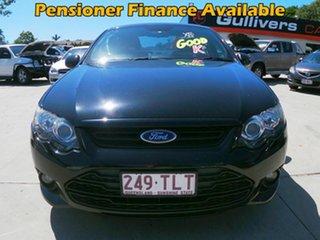 2012 Ford Falcon XR6 FG Black Automatic Sedan.