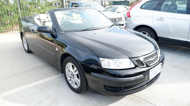 Used Saab 9-3 442 MY2007 Linear, 2007 Saab 9-3 442 MY2007 Linear Black 5 Speed Sports Automatic Convertible