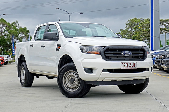 Used Ford Ranger PX MkIII 2019.75MY XL Pick-up Double Cab 4x2 Hi-Rider, 2019 Ford Ranger PX MkIII 2019.75MY XL Pick-up Double Cab 4x2 Hi-Rider White 6 Speed