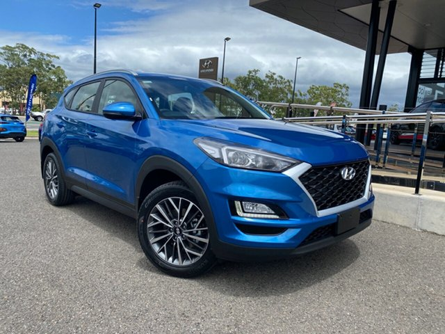 New Hyundai Tucson TL4 MY20 Active X 2WD, 2020 Hyundai Tucson TL4 MY20 Active X 2WD Blue 6 Speed Automatic Wagon