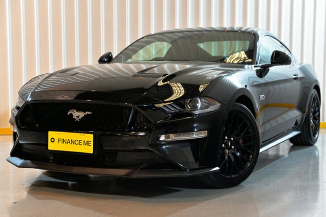 Used Ford Mustang FN 2019MY GT Fastback SelectShift RWD, 2018 Ford Mustang FN 2019MY GT Fastback SelectShift RWD Black 10 Speed Sports Automatic Fastback