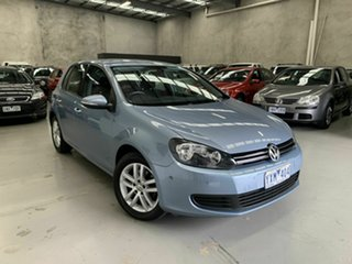 2012 Volkswagen Golf VI MY13 103TDI DSG Comfortline Blue 6 Speed Sports Automatic Dual Clutch.