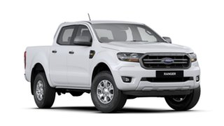 2020 Ford Ranger PX MkIII 2020.25MY XLS Arctic White 6 Speed Sports Automatic Double Cab Pick Up.