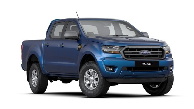 New Ford Ranger PX MkIII 2020.25MY XLS Pick-up Double Cab, 2020 Ford Ranger PX MkIII 2020.25MY XLS Pick-up Double Cab Blue Lightning 6 Speed Sports Automatic