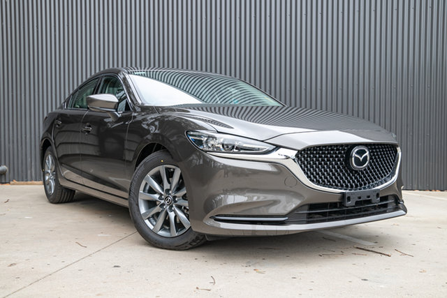 Demo Mazda 6 GL1033 Sport SKYACTIV-Drive, 2019 Mazda 6 GL1033 Sport SKYACTIV-Drive Titanium Flash 6 Speed Sports Automatic Sedan