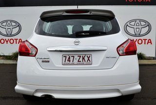 2014 Nissan Pulsar C12 SSS Heritage Edition White Continuous Variable Hatchback