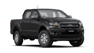 2020 Ford Ranger PX MkIII 2020.25MY XLS Pick-up Double Cab Shadow Black 6 Speed Sports Automatic.