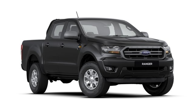 New Ford Ranger PX MkIII 2020.25MY XLS Pick-up Double Cab, 2020 Ford Ranger PX MkIII 2020.25MY XLS Pick-up Double Cab Shadow Black 6 Speed Sports Automatic