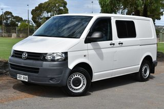 2010 Volkswagen Transporter T5 MY10 Low Roof White 6 Speed Manual Van.