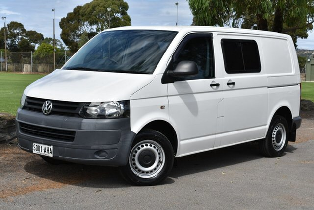 Used Volkswagen Transporter T5 MY10 Low Roof, 2010 Volkswagen Transporter T5 MY10 Low Roof White 6 Speed Manual Van