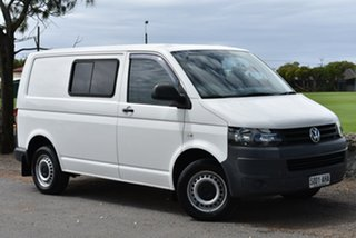2010 Volkswagen Transporter T5 MY10 Low Roof White 6 Speed Manual Van