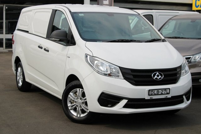Used LDV G10 SV7C , 2018 LDV G10 SV7C White 6 Speed Automatic Van