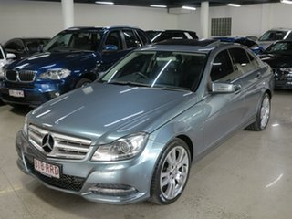 2011 Mercedes-Benz C-Class W204 MY11 C250 CDI BlueEFFICIENCY 7G-Tronic Avantgarde Grey 7 Speed.