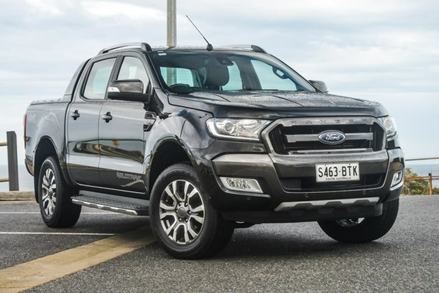 Used Ford Ranger PX MkII , 2017 Ford Ranger PX MkII Wildtrak Black 6 Speed Sports Automatic Utility