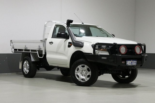 Used Ford Ranger PX MkII XL 3.2 (4x4), 2016 Ford Ranger PX MkII XL 3.2 (4x4) White 6 Speed Automatic Cab Chassis