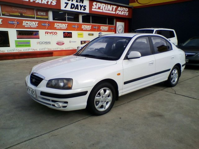 Used Hyundai Elantra XD GL, 2002 Hyundai Elantra XD GL White 4 Speed Automatic Sedan