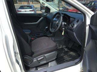 2019 Mazda BT-50 UR0YG1 XT Cool White 6 Speed Sports Automatic Cab Chassis