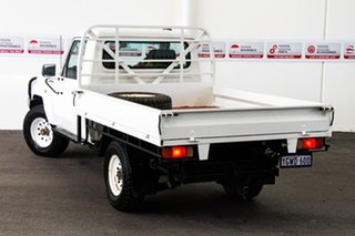 2012 Toyota Landcruiser VDJ79R 09 Upgrade Workmate (4x4) French Vanilla 5 Speed Manual Cab Chassis.
