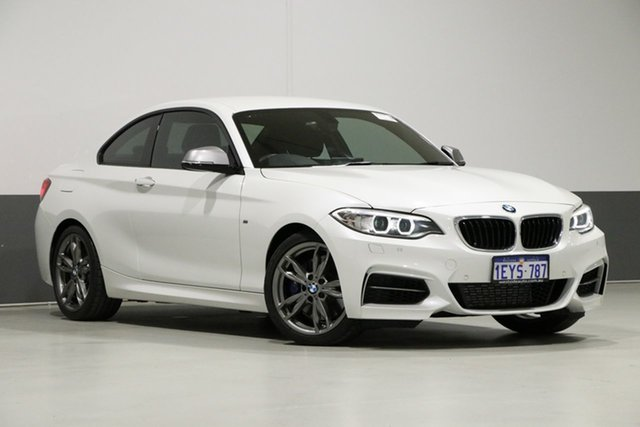 Used BMW M235i F22 MY16 , 2016 BMW M235i F22 MY16 Pearl White 8 Speed Automatic Coupe