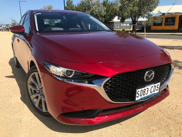 Demo Mazda 3 BP2SLA G25 SKYACTIV-Drive GT Hindmarsh, 2019 Mazda 3 BP2SLA G25 SKYACTIV-Drive GT Soul Red Crystal 6 Speed Automatic Sedan