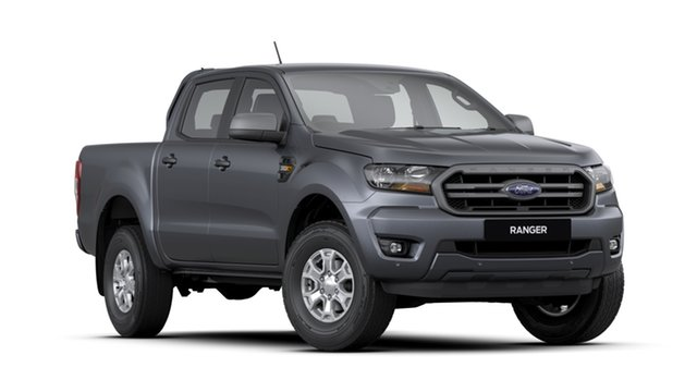 New Ford Ranger PX MkIII 2020.25MY XLS Pick-up Double Cab, 2020 Ford Ranger PX MkIII 2020.25MY XLS Pick-up Double Cab Grey 6 Speed Sports Automatic Utility