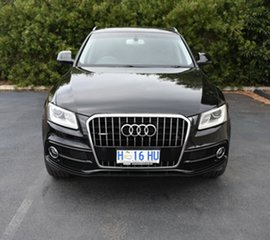 2014 Audi Q5 8R MY15 TDI S Tronic Quattro Black 7 Speed Sports Automatic Dual Clutch Wagon.