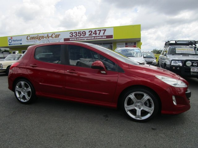 Used Peugeot 308 T7 XTS, 2008 Peugeot 308 T7 XTS Red 6 Speed Manual Hatchback