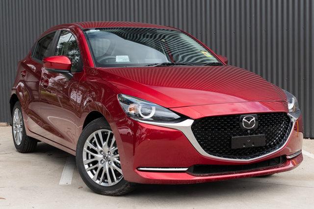New Mazda 2 DJ2HAA G15 SKYACTIV-Drive GT, 2019 Mazda 2 DJ2HAA G15 SKYACTIV-Drive GT Soul Red Crystal 6 Speed Sports Automatic Hatchback