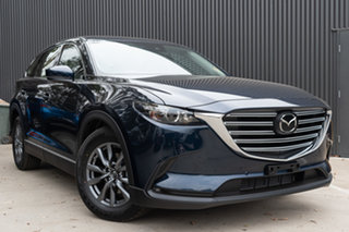 2020 Mazda CX-9 TC Touring SKYACTIV-Drive Deep Crystal Blue 6 Speed Sports Automatic Wagon.