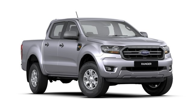 New Ford Ranger PX MkIII 2020.25MY XLS Pick-up Double Cab, 2020 Ford Ranger PX MkIII 2020.25MY XLS Pick-up Double Cab Aluminium 6 Speed Sports Automatic