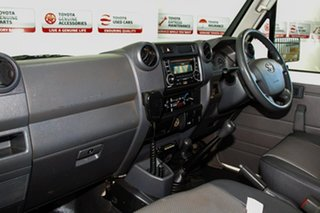 2012 Toyota Landcruiser VDJ79R 09 Upgrade Workmate (4x4) French Vanilla 5 Speed Manual Cab Chassis