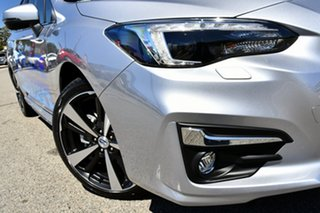 2019 Subaru Impreza G5 MY19 2.0i-S CVT AWD Ice Silver 7 Speed Constant Variable Hatchback.