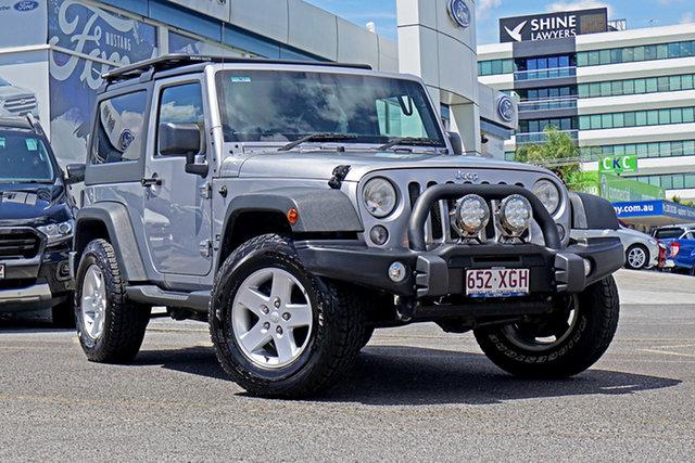 Used Jeep Wrangler JK MY2015 X, 2015 Jeep Wrangler JK MY2015 X Silver 5 Speed Automatic Hardtop