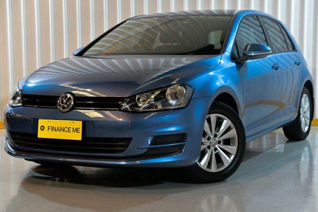 Used Volkswagen Golf VII MY15 90TSI DSG Comfortline, 2015 Volkswagen Golf VII MY15 90TSI DSG Comfortline Blue 7 Speed Sports Automatic Dual Clutch
